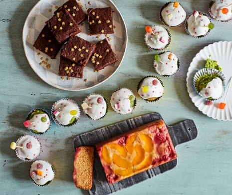 David Atherton's kids' cake recipes.