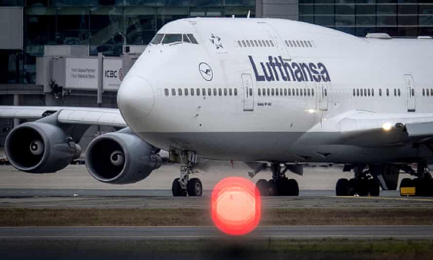 Lufthansa will cancel half its flights from April. Norwegian airlines has cut one in seven flights so far.