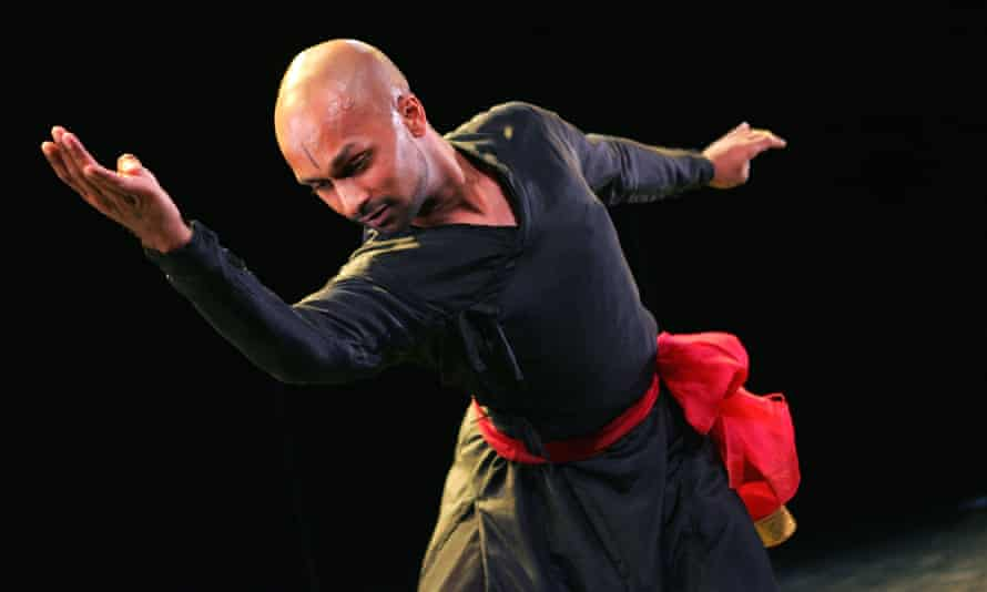 Akram Khan in Third Catalogue at the Purcell Room, London, in 2005.
