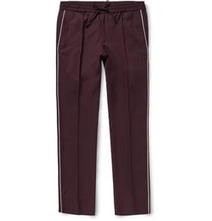 Trousers £395, Valentino at mrporter.com