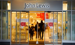 The John Lewis department store in Liverpool on 9 January, the day the company warned it could ditch the annual bonus to its 81,000 employees as it revealed another big fall in profits.
