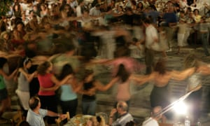 A village feast – with dancing – on Ikaria