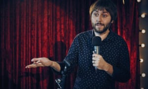 Dying tonight … James Buckley as James Mullinger in The Comedian's Guide to Survival.