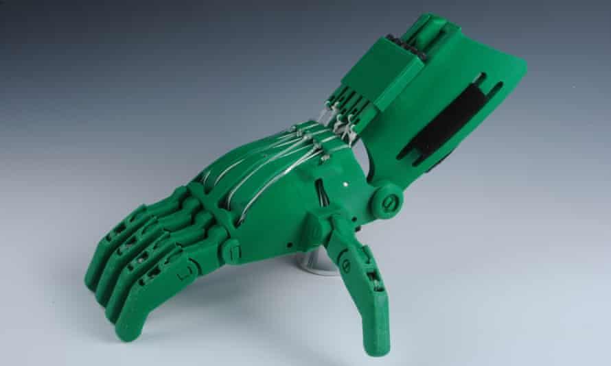 A Cyborg Beast prosthetic hand.