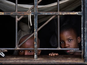 Martin Cilufya and his brother Gift Chilufya in Kabwe