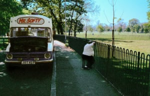 Mr Softy, Clapham Common, south London, 1990