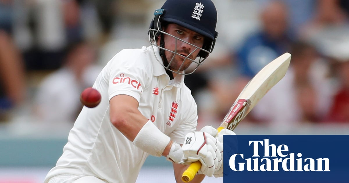 Rory Burns endures to aid England while Hameed suffers | Jonathan Liew