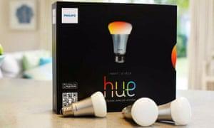 Philips Hue smart lightbulb kit