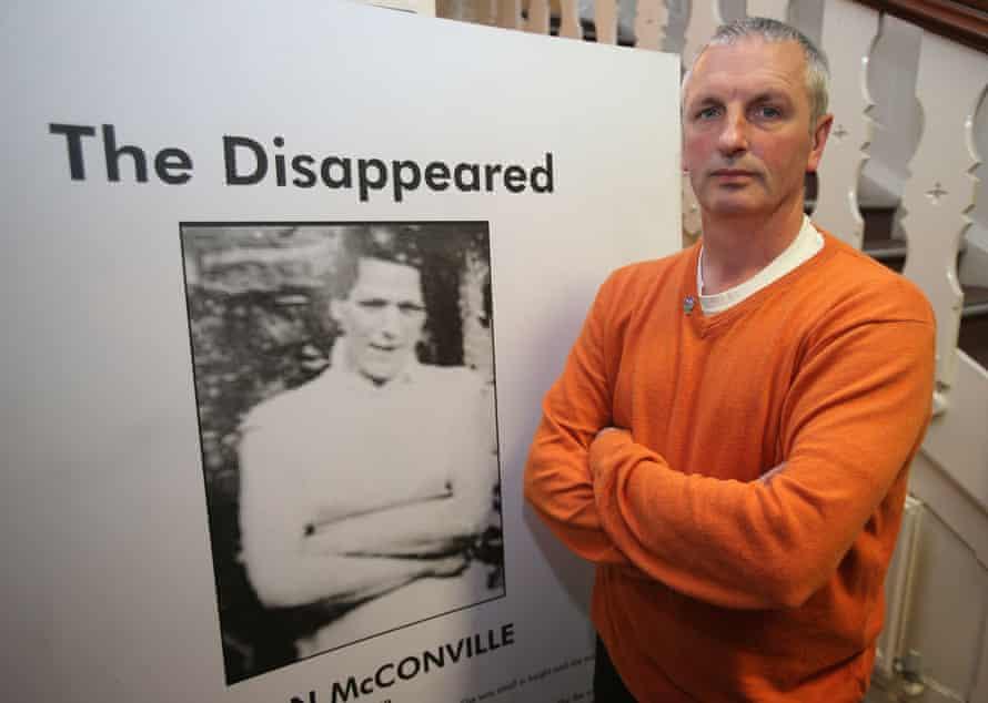 Michael McConville, son of Jean McConville