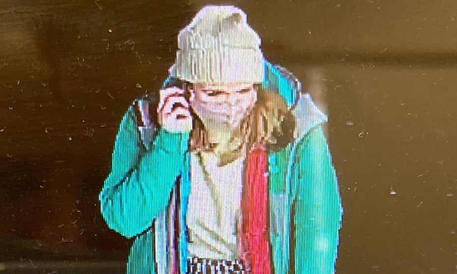 CCTV footage captures Sarah Everard walking home on the night of her murder
