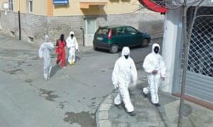 Via Guglielmo Marconi, Grottaglie, Puglia, Italy, 2013, from Jon Rafman's Google Street View show.