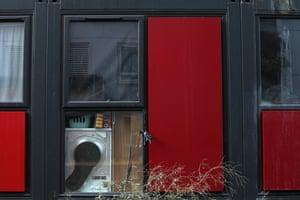 Windows in Meath Court.