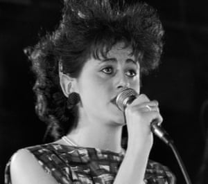 Tracey Thorn of Everything But the Girl, in concert in 1983