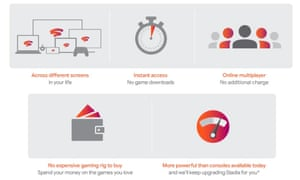 The cost savings alone are enough to justify investment ... an infographic from Google lays out Stadia's selling points.