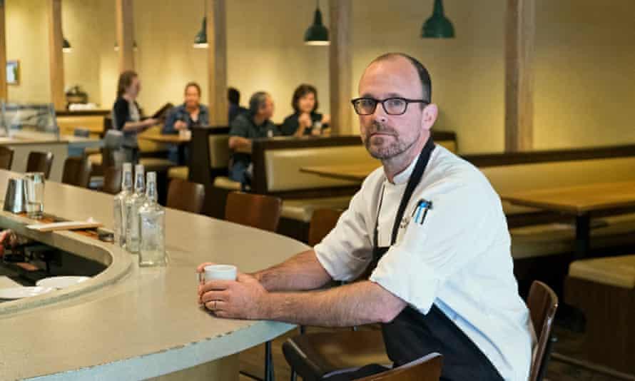 Rick Martin at Limestone Pizza. 'I didn't start this business for a tax break.'