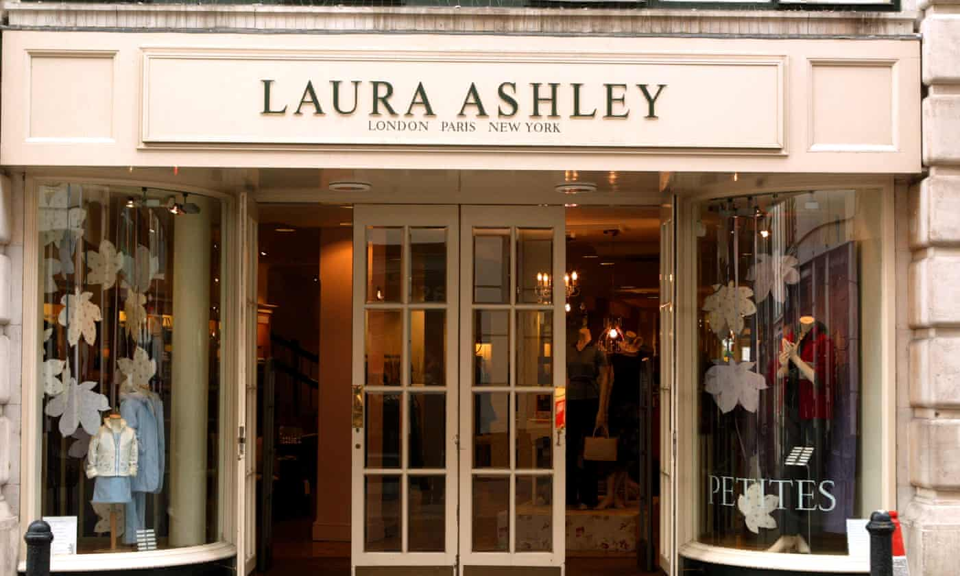 Laura Ashley profits slump after fall in home furnishing sales