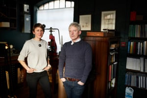The husband and wife team Craig and Rebecca Struthers restore antique and vintage timepieces and design and build their own watches