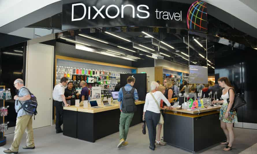 Almost all of the 35 Dixons Travel shops are shut because of the Covid-19 restrictions on international travel.