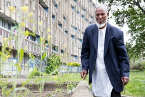 Abdul Rahim from the series Lived Brutalism: photographs of residents of the Robin Hood Gardens housing estate by photographer Kois Miah