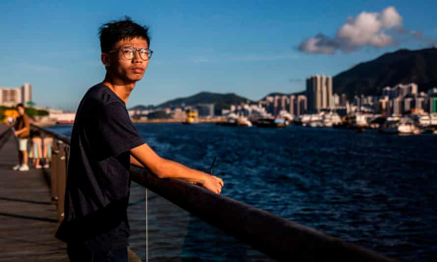 Tony Chung has been found guilty of insulting China's national flag and unlawful assembly.