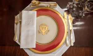 """""""A place setting at the White House"""""""