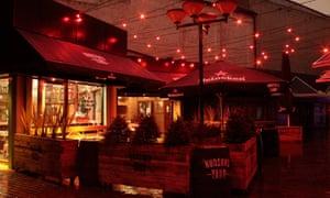 The Hudson Bar, Belfast.