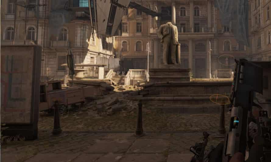 Dazzling set-pieces ... Half-Life Alyx.