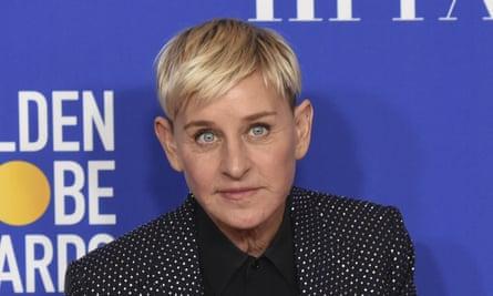 Ellen DeGeneres at the Golden Globes in January.