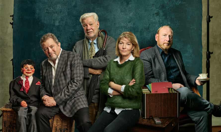 Jon Culshaw, Matthew Kelly, Jemma Redgrave and Adrian Scarborough in Barnes' People