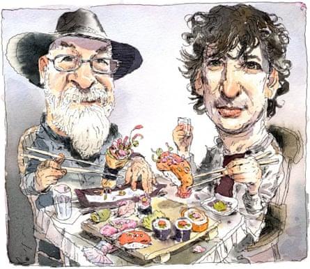Terry Prachett and Neil Gaiman