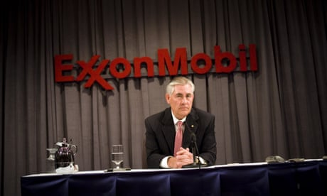 Rex Tillerson is big oil personified. The damage he can do is immense