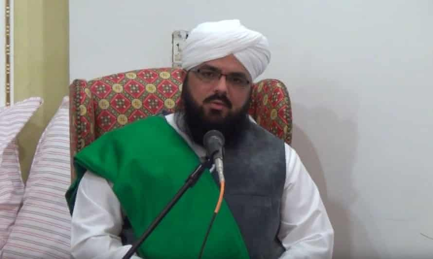 Syed Muzaffar Shah Qadri has been banned from preaching in Pakistan because his sermons are considered too incendiary