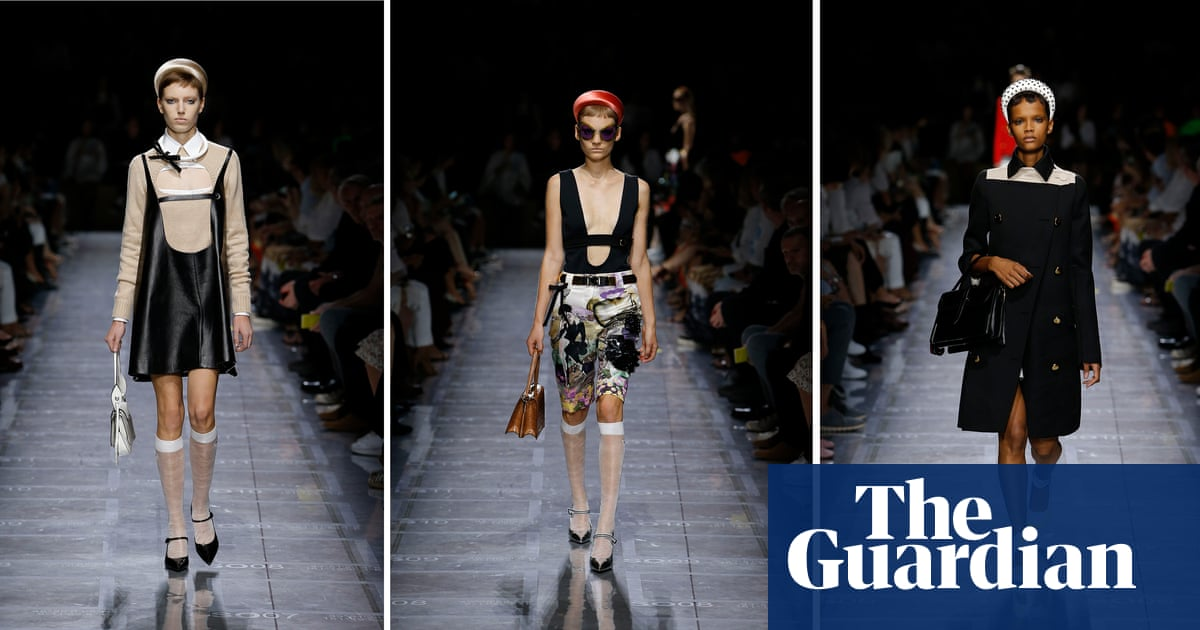 062c1db95f1868 10 of the key shows from Milan fashion week – in pictures   Fashion   The  Guardian