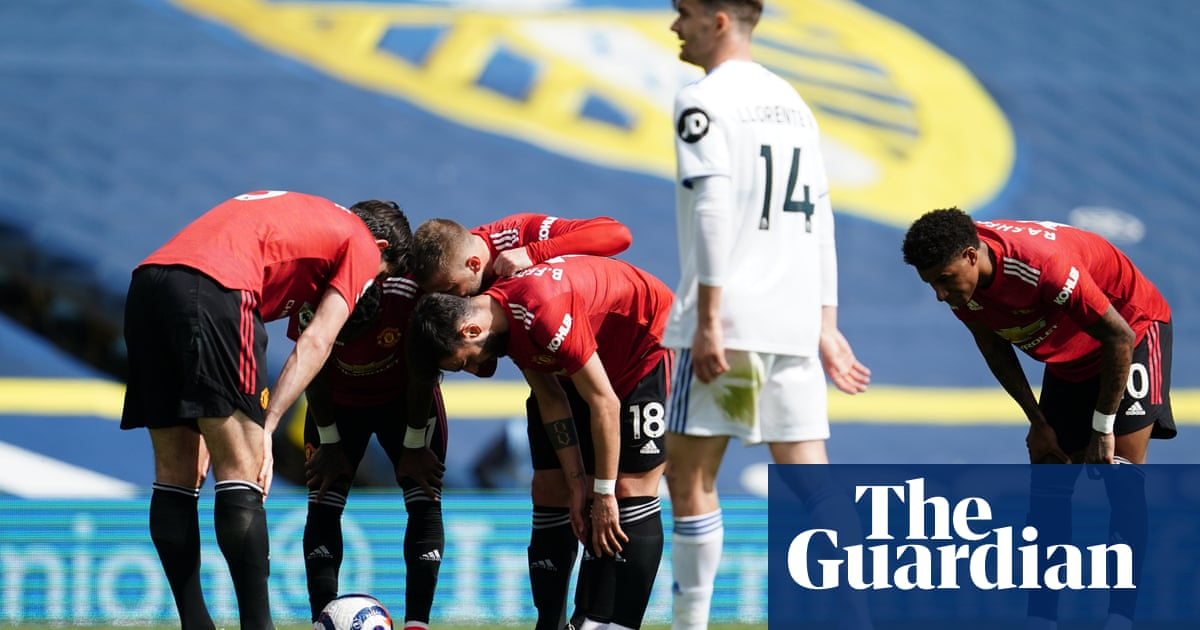Maguire takes out frustration on Fred in Manchester United's draw at Leeds