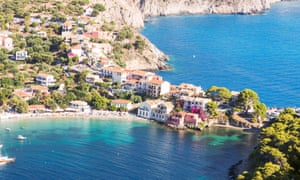 Kefalonia, in the Greek islands. Almost certainly never your home.
