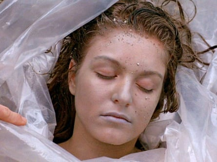 Sheryl Lee in the first episode of Twin Peaks