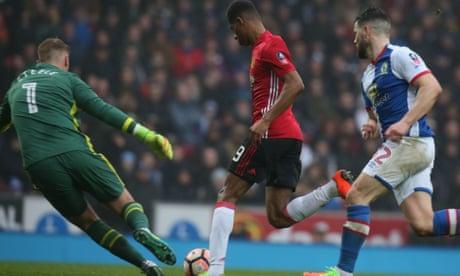 Manchester United's speedy quartet show their paces in win at Blackburn   Jamie Jackson