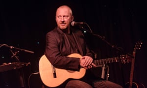 Colin Vearncombe also known as Black on stage at the Voodoo Rooms in Edinburgh in 2014.