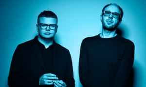 Chemical Brothers … Ed Simons and Tom Rowlands.