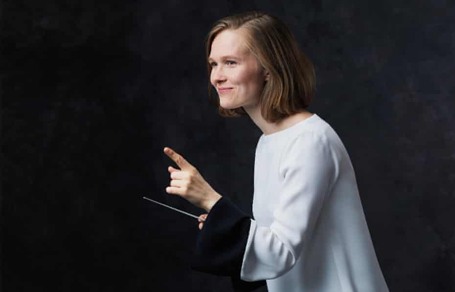 Mirga Gražinytė-Tyla portrait by Andreas Hechenberger