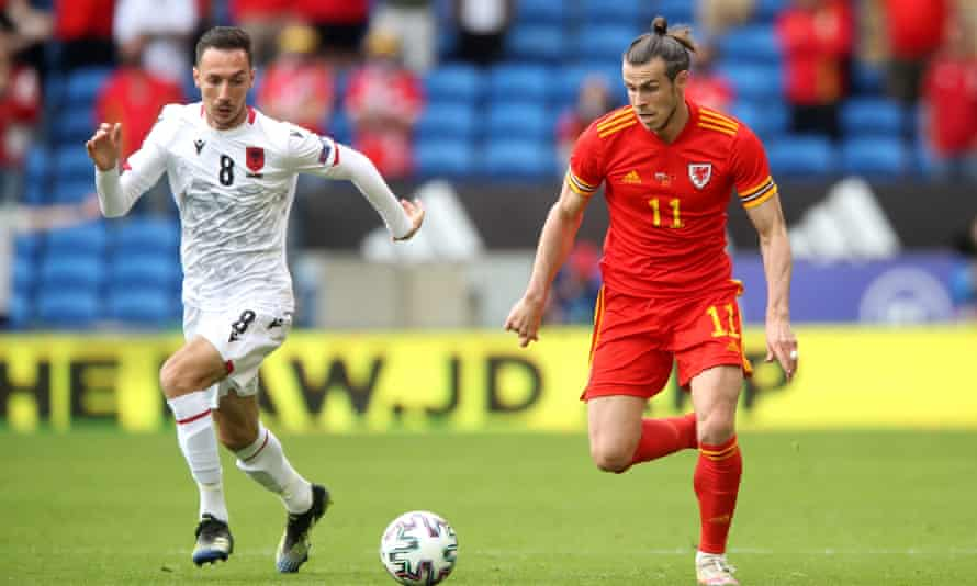 Gareth Bale carries the fight to Albania.