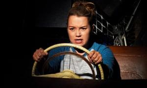 Hannah Traylen as Maddy in The Kneebone Cadillac at Theatre Royal Plymouth.