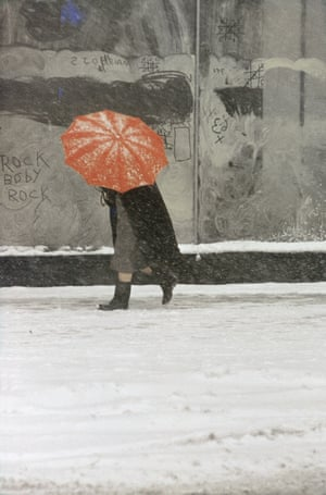 Saul Leiter: Red Umbrella (1958)