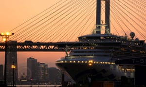 Nearly 700 people on board the Diamond Princess tested positive for Covid-19.