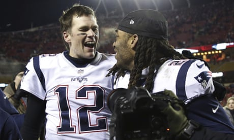4d9058273b2 Tom Brady brilliant in the clutch as Patriots beat Chiefs to set up Rams  Super Bowl