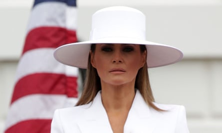 Melania Trump ... 'wry, impeccably groomed nihilism'.