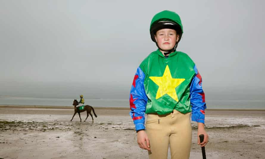 Young jockey Caoimhe Sugrue, 11