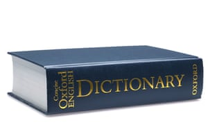 Wide reading … the Concise Oxford English Dictionary.