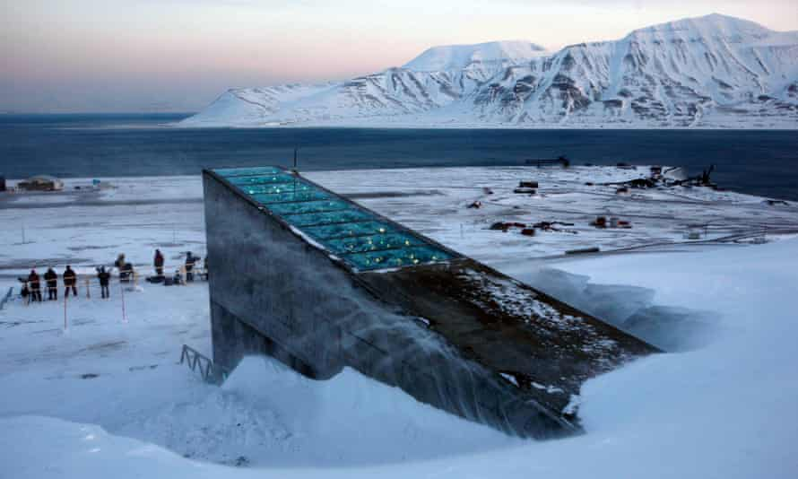 The Svalbard 'doomsday' seed vault was built to protect millions of food crops from climate change, wars and natural disasters