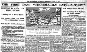 The Guardian, 7 June 1944.